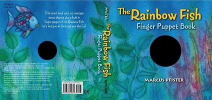 Rainbow Fish Finger Puppet Book