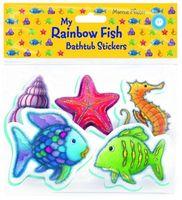 Rainbow Fish Bathtub Stickers