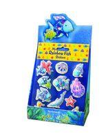 My Rainbow Fish Glitter Stickers 20-Copy Display