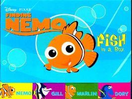 Fish in a Box, Dory, Marlin, Gill and Nemo