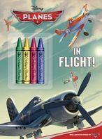 Planes Chunky Crayon Book
