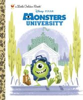 Monsters University Little Golden Book