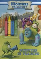 Monsters University Chunky Crayon Book