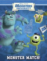 Monsters University Glow-In-The-Dark Reusable Sticker Book
