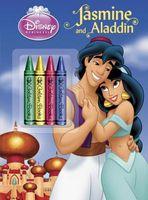 Jasmine and Aladdin Chunky Crayon Book
