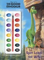 The Good Dinosaur Deluxe Paint Box Book