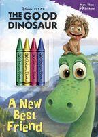 The Good Dinosaur Chunky Crayon Book
