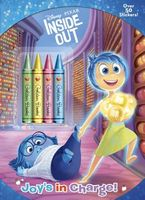 Inside Out Chunky Crayon Book Plus Stickers