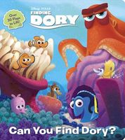 Finding Dory Lift-The-Flap Board Book