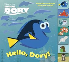 Finding Dory Glitter Lift-The-Flap Book
