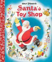 Santa's Toy Shop Little Golden Board Book