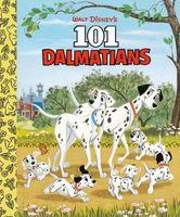 Walt Disney's 101 Dalmatians Little Golden Board Book