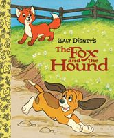 The Fox and the Hound Little Golden Board Book