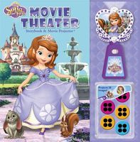 Disney Sofia the First Movie Theater Storybook & Movie Projector