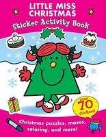 Little Miss Christmas: Sticker Activity Book