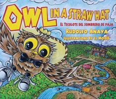 Owl in a Straw Hat