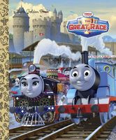 The Great Race Movie Little Golden Book