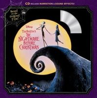Tim Burton's the Nightmare Before Christmas Read-Along Storybook and CD