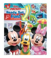 Mickey Ready, Set, Fun!: A Lift-and-Seek Book