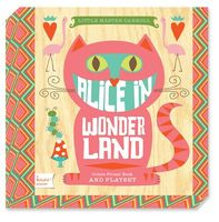 Alice in Wonderland Playset [With 7 Punch-Out Cards]