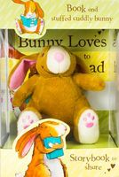 Bunny Loves to Read Book and Soft Toy