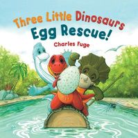 Three Little Dinosaurs Egg Rescue!