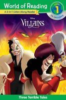 World of Reading Villains 3-In-1 Listen-Along Reader