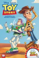 DisneyaPIXAR Toy Story 1-4: The Story of the Movies in Comics