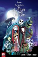 Disney The Nightmare Before Christmas: The Story of the Movie in Comics