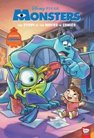 The Story of the Movies in Comics: Disney/PIXAR Monsters Inc. and Monsters University
