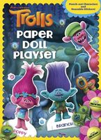 Trolls Reusable Sticker and Paper Doll C&a Book