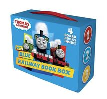 My Blue Railway Book Box