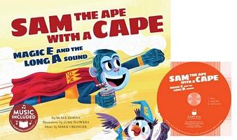 Sam the Ape with a Cape
