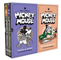Walt Disney's Mickey Mouse Vols. 11 & 12 Gift Box Set by Fred Gottfredson