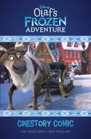 Disney Olaf's Frozen Adventure Cinestory Comic