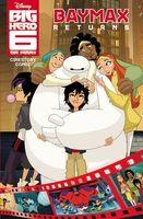 Disney Big Hero 6: The Series Cinestory Comic: Baymax Returns