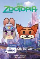 Disney Zootopia: As Told by Emoji
