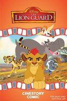 Disney the Lion Guard Cinestory Comic