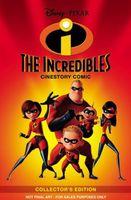 Disney/Pixar the Incredibles Cinestory Comic Collectors Edition