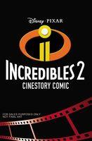 Disney/Pixar Incredibles 2 Cinestory Comic