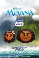 Disney Moana: As Told by Emoji