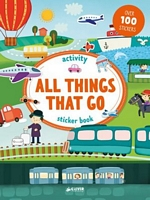 All Things That Go Activities & Stickers