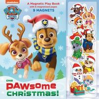 One Paw-some Christmas: A Magnetic Play Book